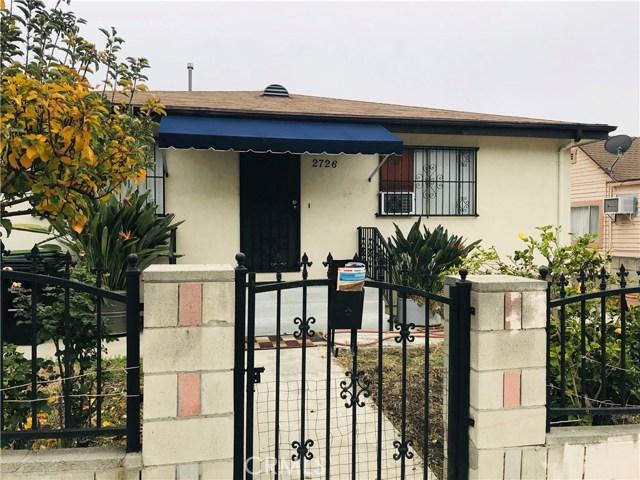 2726 Alta Street, Los Angeles, CA 90031
