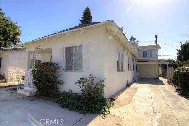 2678 Thorpe Avenue, Los Angeles, CA 90065