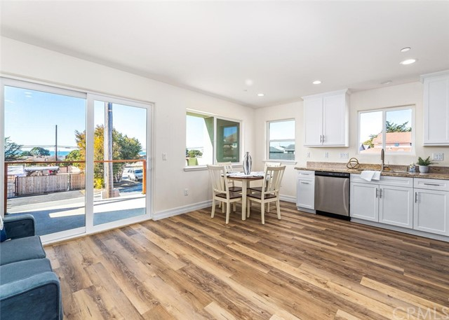 Single level unit with open floor plan and OCEAN VIEWS!