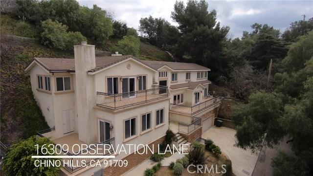 16309 Observation Lane, Chino Hills, CA 91709