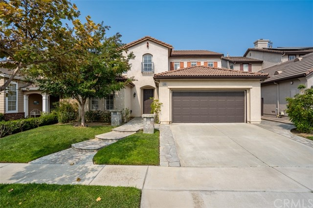 Nestled in the sought-after neighborhood of Brea Olinda Ranch, this lovely Van Daele two-story home built in 2002 offers a spacious and open floor plan. Ideally located close to walking trails, public parks, shopping, dining, entertainment and 57 Fwy.  At 2,789 sq. ft., this home features:  4 Bedrooms + 3 Baths + 3 Car Garage (one Tandem) + Den/Office + Cozy Loft * Vaulted Ceiling in Living Room with Dramatic Sweeping Staircase * Highly desirable Main-floor Bedroom next to 3/4 Bath (Great for Families or Guests) * Double-door entry into Den/Office (converted from Formal Dining) * Large Laundry with utility sink with ample storage * Gourmet Kitchen with Dining Area and Two Pantries (one converted from Butler's Pantry) * Family Room with Fireplace * Large Master Suite with Custom Built-Ins and large walk-in closet * Large Master Bath with dual sinks, separate shower and roman tub * Epoxy flooring in Garage * Ample Storage throughout * Spacious Backyard with Fruit Trees, Patio and Built-in BBQ (Plenty of Room to Entertain Family & Friends) * Great Neighborhood and School District * Must see to appreciate all the extras this home has to offer!