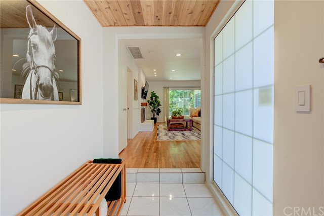 Step inside to the bright entry foyer