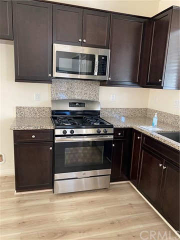 New microwave and stainless appliances