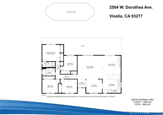 2504 W Dorothea Av, Visalia, CA 93277 Photo 31