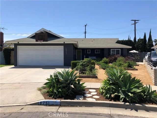 16751 Debra Circle, Huntington Beach, CA 92647