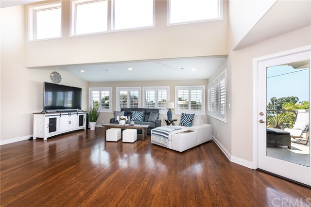 Open, bright living areas