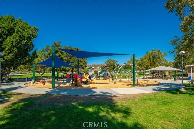 Community Park with children's playground