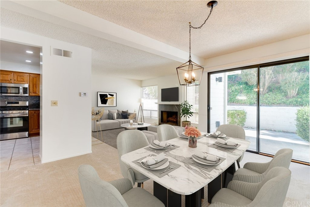 Dining Area - Virtually Staged