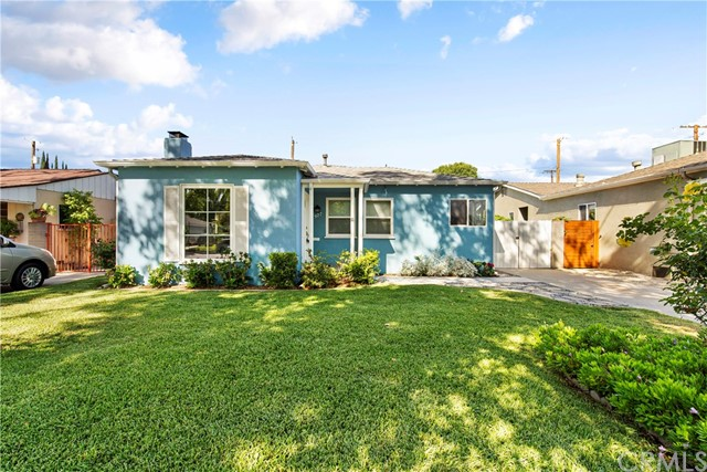 YOUR VERY OWN BURBANK OASIS. This 1930's Burbank Traditional is your serene escape from city life, while also providing easy access to all that Burbank has to offer.  Duck into this quiet, family-friendly neighborhood, and turn on to a tree-canopied section of Orchard Drive.  Number 927 is the perfect example of how to update a home while respecting the architect's original vision and retaining character details. This home is outfitted for 2021 living, but is chock full of original moldings, finishes, period doorknobs, and built-ins. You are walking distance to the Chandler Bike Path, Magnolia park's many amenities, and a stone's throw from Downtown Burbank/The Media District. A wood-burning fireplace, with mid-century stone mantel, anchors the living-room. Matching classic, etched archways create symmetry and an open concept for your entertaining areas and a nice flow from living-room to dining-room, to kitchen. Meanwhile the bedrooms remain separate, private retreats. The kitchen is stylishly updated, with stainless appliances, Silestone counters, glass-tiled back-splash, porcelain tile flooring, and a convenient washer-dryer nook. There are double-paned windows throughout, hardwood floors, copper plumbing, tons of closets and storage, recessed lighting (even in the garage), a new water heater and a Nest thermostat. The finished 2-car garage, provides