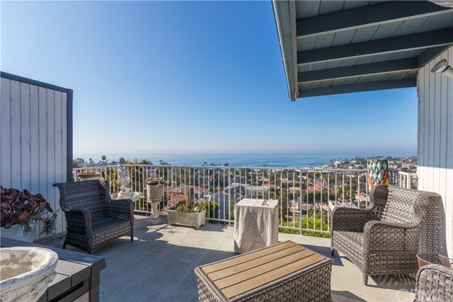 View deck with privacy and protection offers the best views!