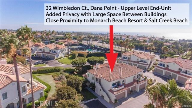 32  WIMBLEDON, Monarch Beach, California