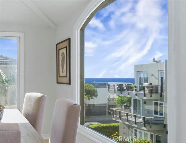 ocean view dining room