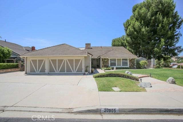 20905 Quail Circle, Yorba Linda, CA 92886