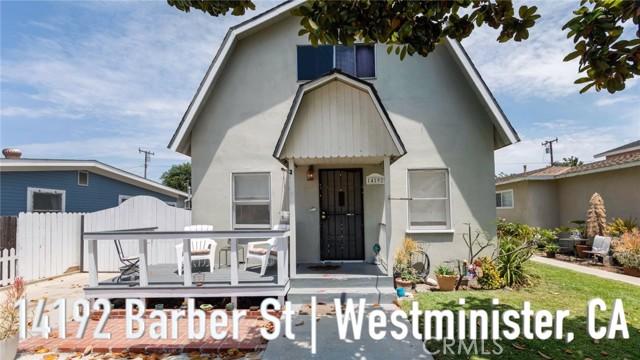 14192 Barber Street Westminster, CA 92683