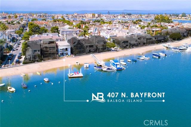 407 N Bayfront, Newport Beach, CA 92662