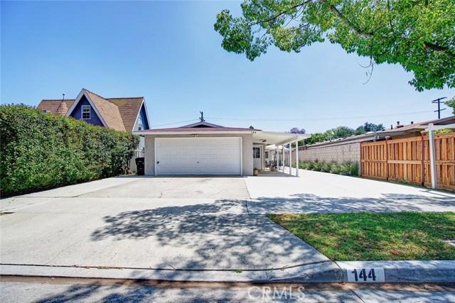 144 W Rosslynn Avenue, Fullerton, CA 92832