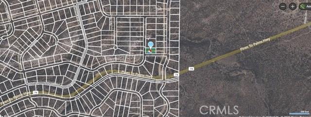 0 Belvedere Rd, Pinyon Pines, CA 92561