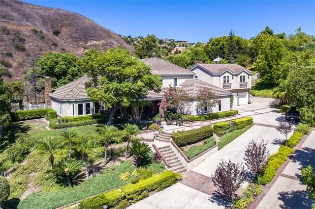 22545  Rolling Hills Lane, Yorba Linda, California