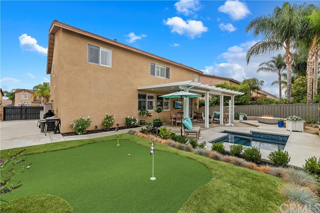 Gated RV parking and your very own putting green