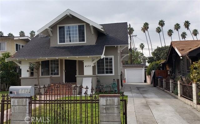 4533 Cimarron Street, Park Hills Heights, CA 90062