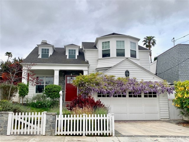 This spacious Cape Cod Executive Home is located on a large 50 X 150 lot on perhaps the best street in East Manhattan Beach! At nearly 6,000 square feet, this newer Doug Leach designed 5 bedroom, 6 bath home has all the bells and whistles you'd expect and then some. The Chef's kitchen features a large island with farmhouse sink, separate vegetable sink, 2 Bosch dishwashers, Subzero refrigerator, Thermador stove/grill/griddle, warming drawer, and walk-in pantry. The large Master suite has an additional room/office with balcony as well as a huge walk-in closet, luxurious bath with Jacuzzi tub. In the basement you will enjoy movie night in your own furnished home theater fearuring 6 electric reclining chairs, projector, 9.2 surround sound & Blu-ray player. Tri-fold patio doors, great for entertaining, lead out to a large south-facing grassy yard. Other amenities include hardwood floors, granite and marble counter tops throughout, 4 gas fireplaces including one outside, surround sound ceiling speakers in the family room, 4 outside security cameras, doorbell video & intercom, 3 walk-in closets, 2 mini wine/drink refrigerators, recirculating hot water, central vacuum, 3 car garage.  This outstanding location is walking distance to parks and elementary, middle and high schools in the award-winning Manhattan Beach Unified School District. Quiet 5th Street does not go through to busy streets.