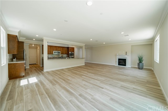 Kitchen Opens To Family Room