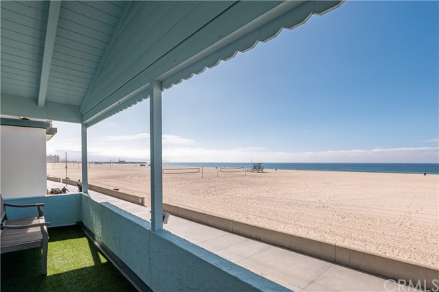 Wake up to amazing views of the ocean and enjoy beautiful sunsets from the living room balcony. This sun drenched 1-bedroom unit has just been remodeled with all new appliances – slide in stove with oven, microwave, dishwasher and refrigerator. The bathroom has been fitted with new sinks, mirrors and cabinets. All new porcelain tile floors, newly refinished wood flooring, new paint, new light fixtures / fan. The unit also comes with its own washer and dryer installed. Located near downtown Hermosa Beach with close access to shops, restaurants and fitness studios. No garage parking but 1 resident parking pass will be included. Just move in and enjoy the best of beach living!