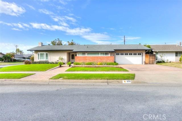 670 S Rosalind Drive, Orange, CA 92869