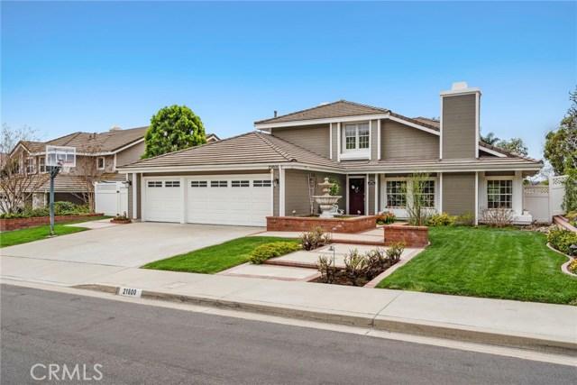 21800 Feather Avenue, Yorba Linda, CA 92887