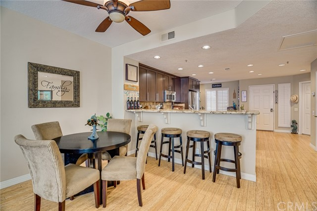 Dining Room and Bar Create Space for Entertaining