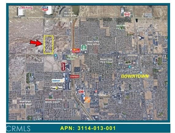 0 Vac/Ave I Pav /30th Stw Pav, Lancaster, CA 93535