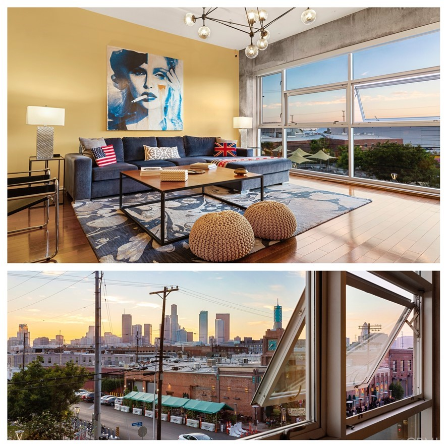 A stunning interior with stunning sit down views from unit 307
