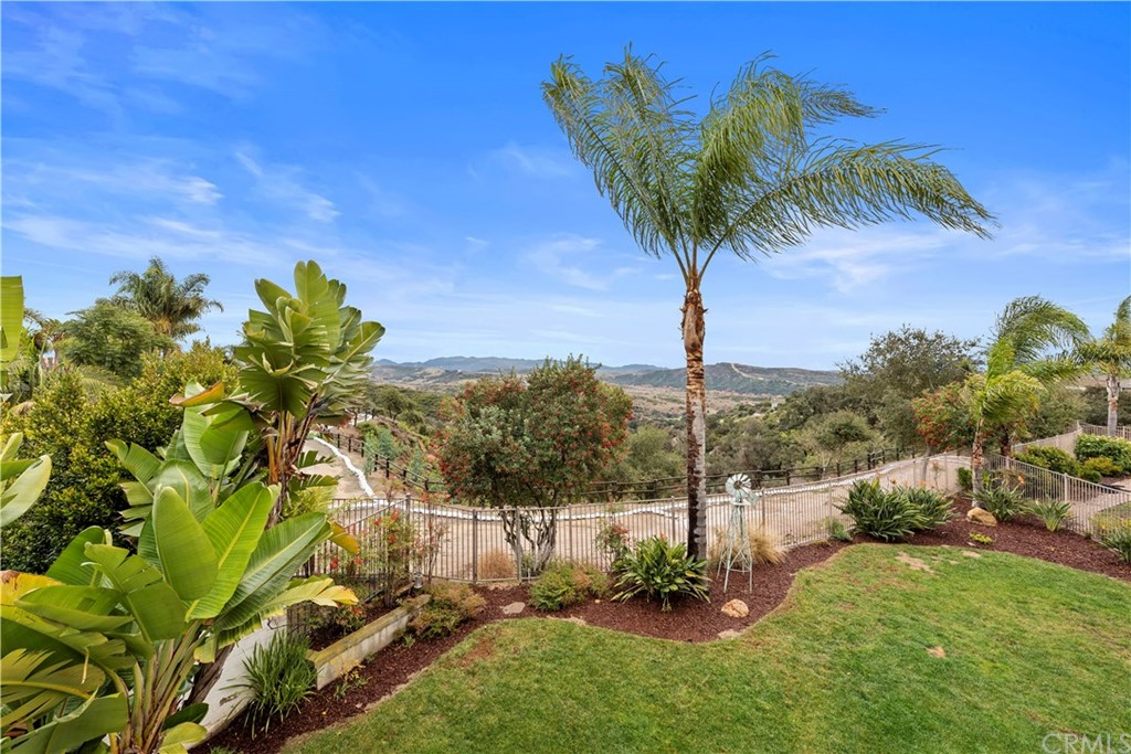A total &complete GEM with a view of the Talega reserve, canyon & mountains beyond! PEACE....right in the middle of OC & San Clemente! Picture perfect appeal from the street w/brand new paint & landscape! An amazing large yard w/a fabulous panoramic view, loads of room in the yard & even room for a pool! The interior is AMAZING w/picture perfect all new paint, gorgeous wide crown molding, wood style flooring, new carpet on stairs & clean as a whistle! FAB floor plan w/entry & a room to the right that could be a formal LR, office, play rm craft rm ....you name it!! DR, FR combo open to the kitchen for that well loved GREAT ROOM feel that is perfect for people that want to know what's going on & love being together! Cozy fireplace, lots of light & the beautiful open view with loads of privacy off the back.  No street, no cars, no neighbors! Open functional granite kitchen w/ convenient breakfast bar, loads of storage & a butlers pantry or prep area w/wood counter! Then you have the separate laundry & 2 car garage w/storage! Upstairs you have 3 bedrms & open loft WITH walk in closet SO easily converted to a 4th BEDROOM. (Assessor lists as a 4BR) Large front deck is super big & a fun place to relax/play! Master BR is big w/VIEW & dressing area w/storage & lrg walk-in closet! 2 sep. vanities, oval tub & stand alone shower! The best city! SAN CLEMENTE! THE BEACH! It's where pretty much everyone wants 2 be! This one will NEVER last so you better get there ASAP! FABULOUS ASSOCIATION!