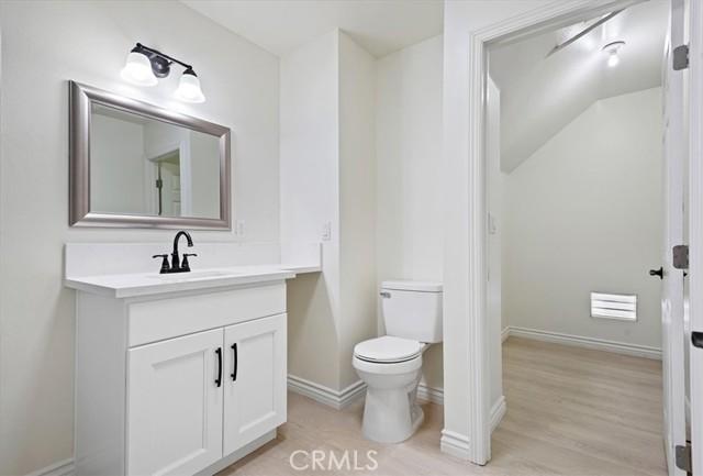 Upstairs Bathroom Adjoined with Huge Storage Room