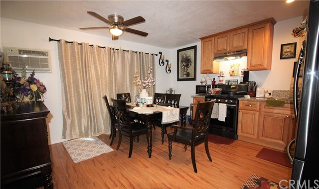 Large Kitchen with Dining Area. Slider to patio/yard