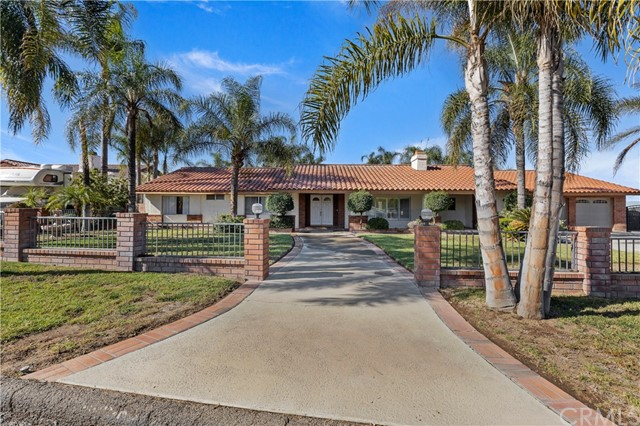 One of Single Story Corona Homes for Sale at 1860  Bel Air Street