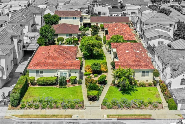 Rare 22,978 sq foot property in the heart of Alhambra. Possibilities are endless.  Currently a beautifully maintained 8 unit multi family open garden property. This could be an investor/developers dream come true, so many options here!   5 Buildings spaced throughout the property to create a quiet and peaceful setting with mature fruit trees in the courtyard areas, open spaces, and green landscaping.  A mix of units including a studio, 1bed/1bath duplexes, and detached homes including a 3bed/1bath SFR with a basement and fenced yard.  All units have laundry hookups inside except studio and upstairs unit has a laundry room downstairs.  Parking on site includes 5 single car garages, a two car garage, a carport, and a parking space.   Street parking is located nearby.  Buildings range in age, being built between 1946-1954.  All tenants are month to month, most have been at the property long term.  All units are currently rented and this property rarely has vacancies.  Situated in a prime location with close freeway access, public transportation, restaurants, entertainment, retail shops, parks, and more.