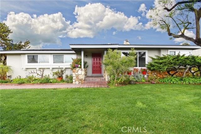 2805 Vista Mesa Drive, Rancho Palos Verdes, CA 90275