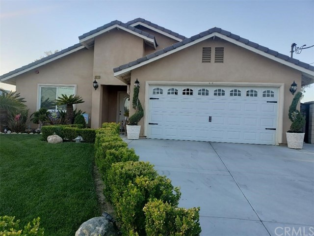 Beautiful Property build in 2017, this gorgeous home  features 4 bedrooms, 2 baths , with abundance of natural light the modern design will delight you. 2 car attach garage with long and wide driveway, for extra parking spaces for trucks and RV. huge back yard with fruit trees . With front and back lawn all done professional with sprinklers . Please check with city if you can build a second unit.