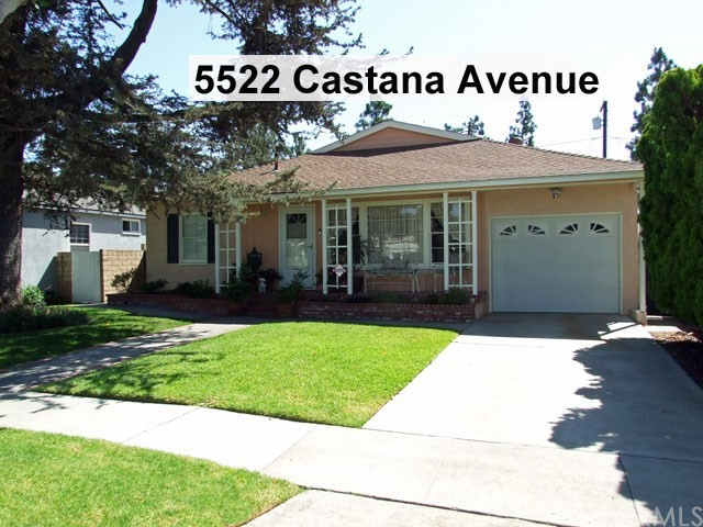 5522 CASTANA Avenue, Lakewood, CA 90712
