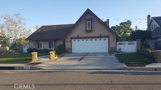 20720 Cottonwood Road, Yorba Linda, CA 92887