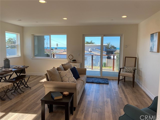 Beautiful ocean views from the bottom story of Unit 3!