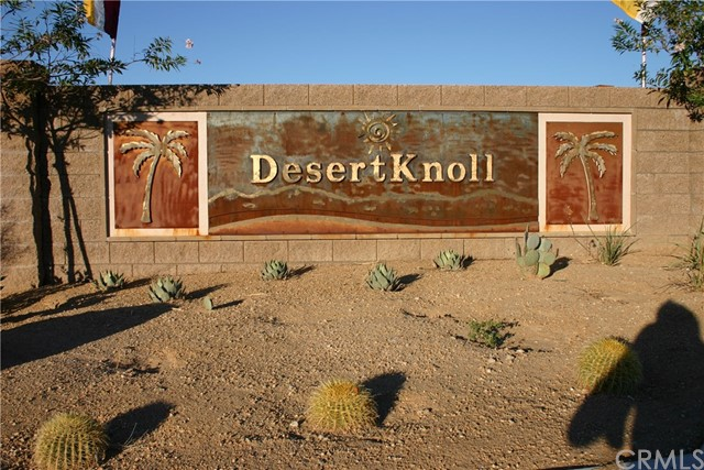 0 Desert Knoll, 29 Palms, CA 92277