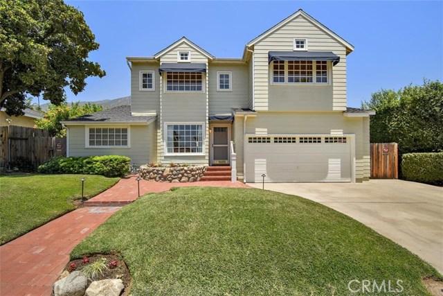 501 E Montecito Avenue, Sierra Madre, CA 91024