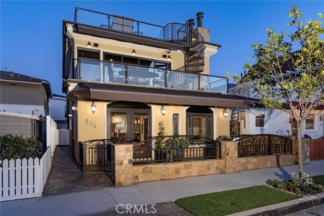 204 7th Street   Balboa Peninsula (Residential) (BALP)   Newport Beach CA