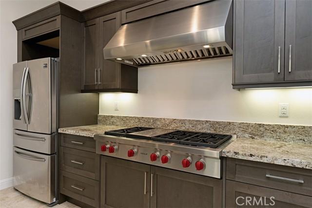 Second kitchen WOLF appliances.