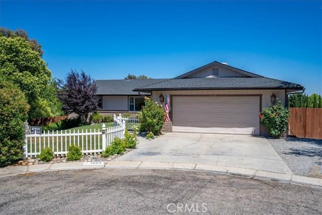 1020  Eagle Court, Paso Robles, California