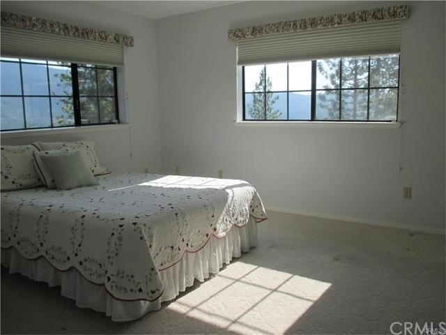 Large sized Master bed with great views
