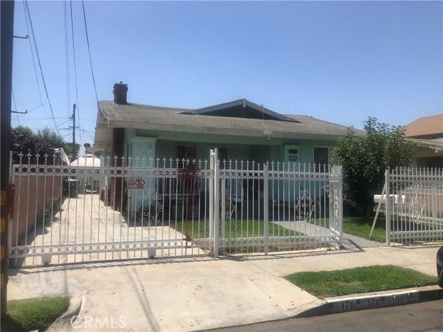 178 E 49th Street, Los Angeles, CA 90011