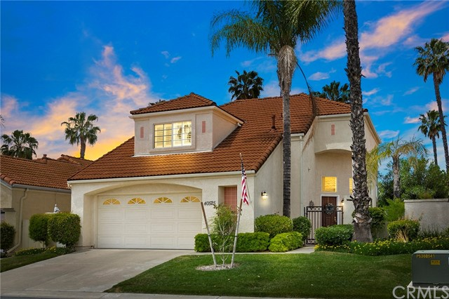 The Prestigious Guard Gated 55+ Golf Course Community of The Colony.  This gorgeous home is in turnkey condition and has recently been completely renovated.  The well-designed floor plan is open and spacious with all of your main living areas downstairs. The main floor includes the master bedroom with master bathroom and two large closets, guest bathroom, large living and formal dining rooms, kitchen dining area and family-room.  The second level features a secondary bedroom, full bathroom and loft making it perfect for guests or whatever suites your needs.  All new shutters, wood laminate flooring throughout, granite counters, frameless shower enclosure, ceiling fans, upgraded windows plus much more! The Colony has many activities to enjoy in the beautifully remodeled clubhouse such as billiard room, card room, fitness center, pool, jacuzzi and tennis along with 24hr guard gated security. Conveniently located closed to shopping, freeways, restaurants and more.  This beautiful home can be yours!